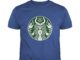 The Satan Satanic Starbuck Coffee shirt