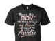 There's this boy he kinda stole my heart he calls me auntie unisex shirt