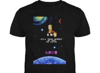 Thor kill your heroes be gay do crime shirt