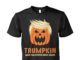 Trumpkin make halloween great again unisex shirt