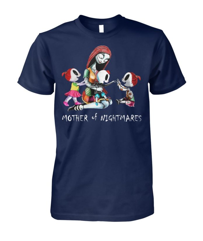 Two girls one boy mother of nightmares unisex cotton tee