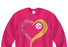 Pittsburgh Steelers Heart Love