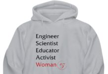 Engineer scientist educator activist woman
