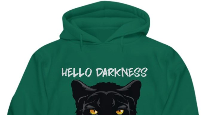 Black panther hello darkness my old friend