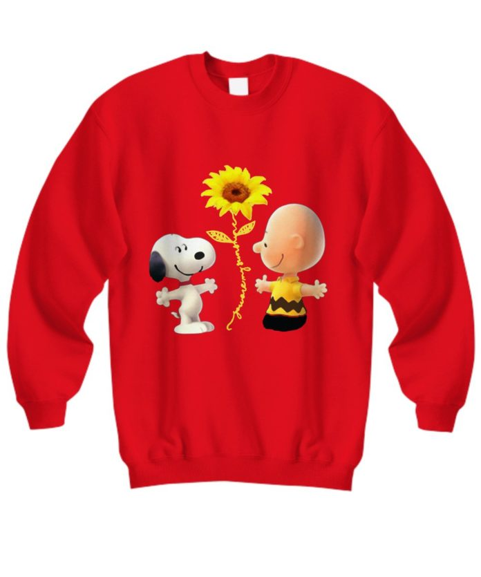 Snoopy and Charlie Brown you are my sunshine