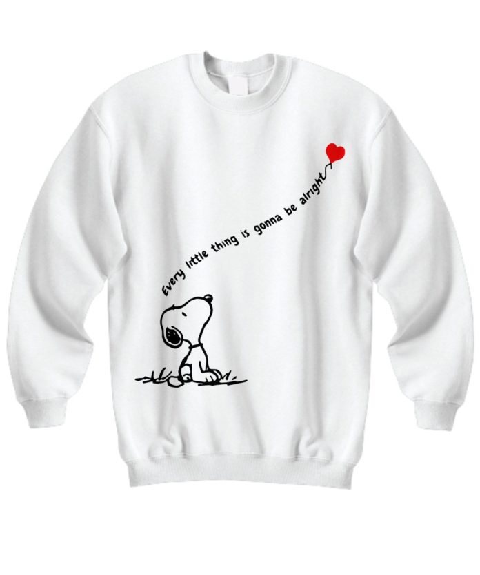 Snoopy dog every little thing is gonna be alright