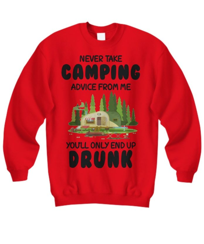 Never take camping advice from me you will only end up drunk