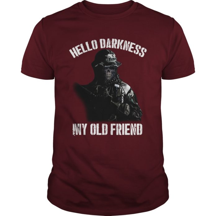 Veteran hello darkness my old friend shirt
