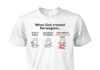When God created Norwegians a bit of humor two spoons of honesty unisex shirt