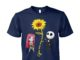 You are my sunshine Jack and Sally chibi unisex cotton tee