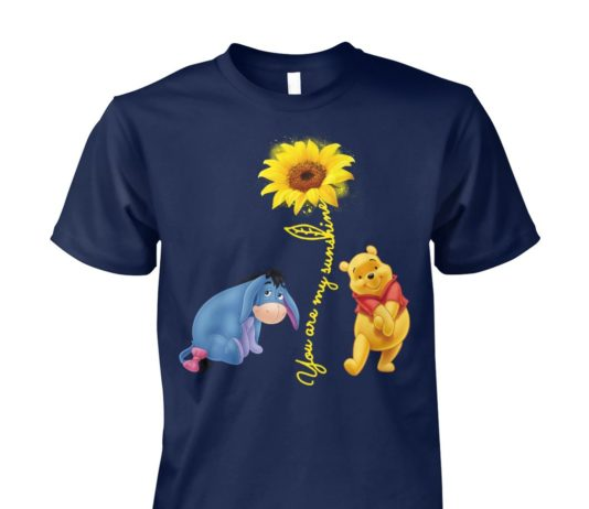 You are my sunshine Pooh and Winnie unisex cotton tee