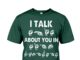 American sign language I talk about you in shirt