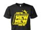 Cat mew mew mew star wars unisex shirt