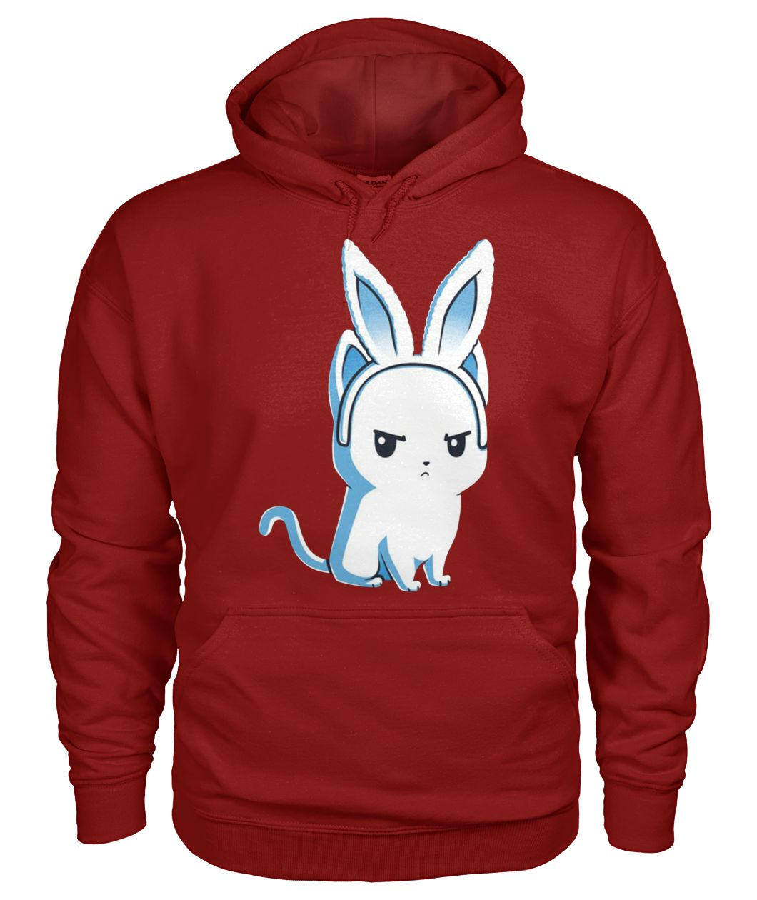 Cat who are you calling cute gildan hoodie