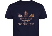 Eminem addicted Adidas shirt