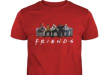 Freddy Jason Michael Myers Leatherface and IT friends Horror Movie shirt