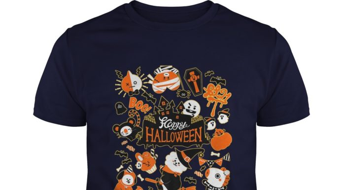 Halloween K Pop Korean Pop Music Fashion BT21 shirt