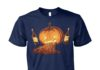 Halloween pumpkin ale unisex cotton tee