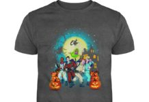 Halloween pumpkins Ghostbusters shirt