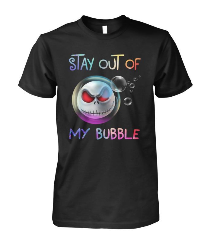 Head of Jack Skellington stay out of my bubble guy shirt