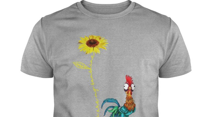 Hei Hei the Rooster Moana You Are My Sunshine Sunflower shirt