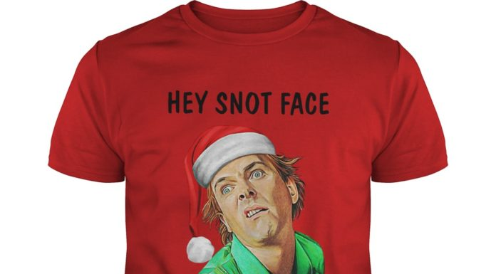 Hey Snot Face Merry Christmas shirt