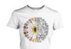 Hippy sunflower power guitar knock on the door to my soul women shirt