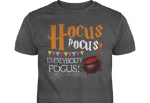 Hocus Pocus everybody focus halloween shirt