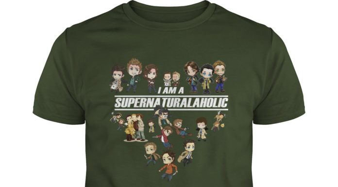 I am a supernatural aholic shirt