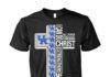 I can do all things through Christ who strengthens me Kentucky Wildcats unisex shirt