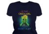 I'm that crazy girl who loves groot a lot lady shirt