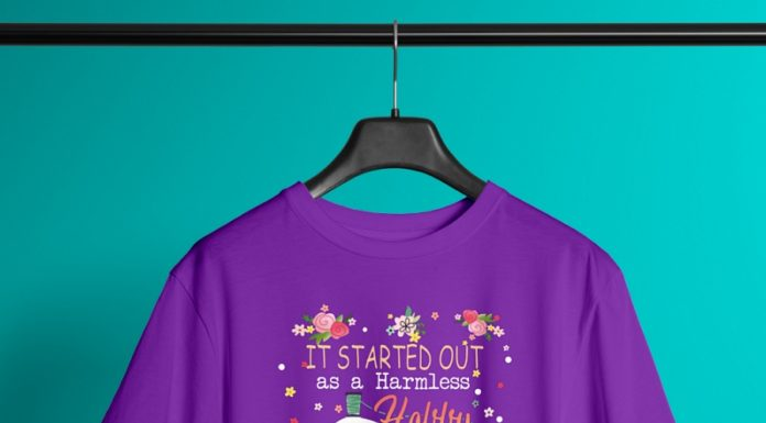 It started out as a Harmless Holly I had no idea it would come to this shirt