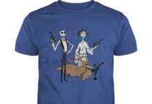 Jack Skellington Sally And Zero As Star Wars shirt