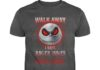 Jack Skellington Walk Away I Have Anger Issues And A Serious Dislike For Stupid People shirt