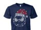 Jack skellington christmas glitter unisex cotton tee