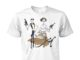 Jack skellington sally and zero as star wars unisex cotton tee