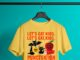 Lets Eat Kids Punctuation Saves Lives Halloween shirt