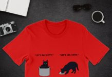 Let's Eat Kitty Commas Save Lives shirt