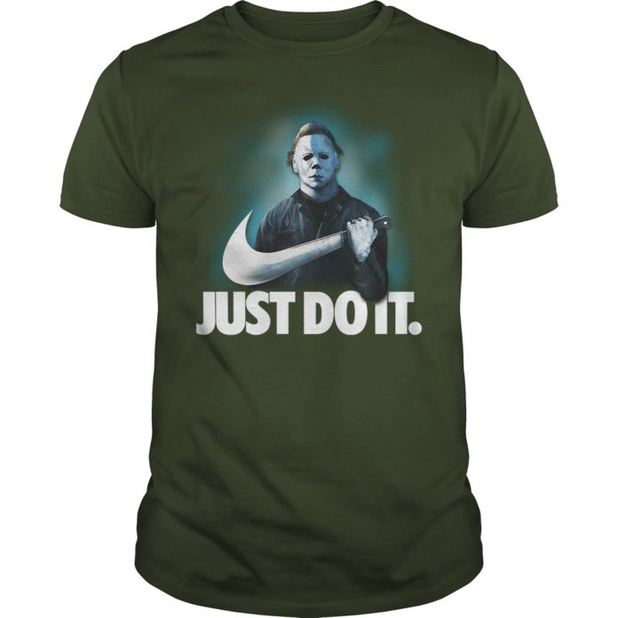 Michael Myers Just do it shirt