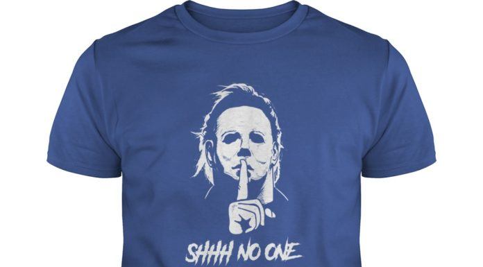 Michael Myers Shhh No One Cares shirt