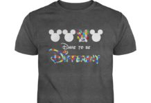 Mickey Mouse Autism Dare to be different shirt