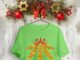 Mistlestoned Golden Glitters Smoking Weed Christmas shirt