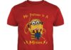 My patronus is a Minion shirt