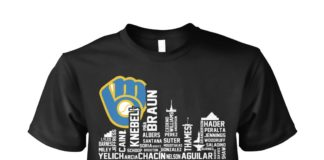 Name team Milwaukee Brewers 2018 NL central division unisex shirt