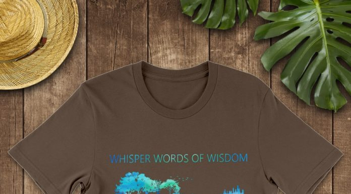 New Guitar- whisper words of wisdom let it be shirt