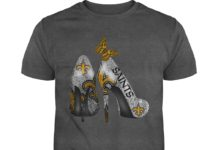 New Orleans Saints Rhinestone High Heels shirt
