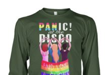 Panic at the disco and love is not a choice unisex long sleeve