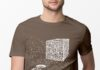 QR Code Cube We are the borg shirt
