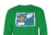 Rose Nylund's green The Golden Girls sweatshirt