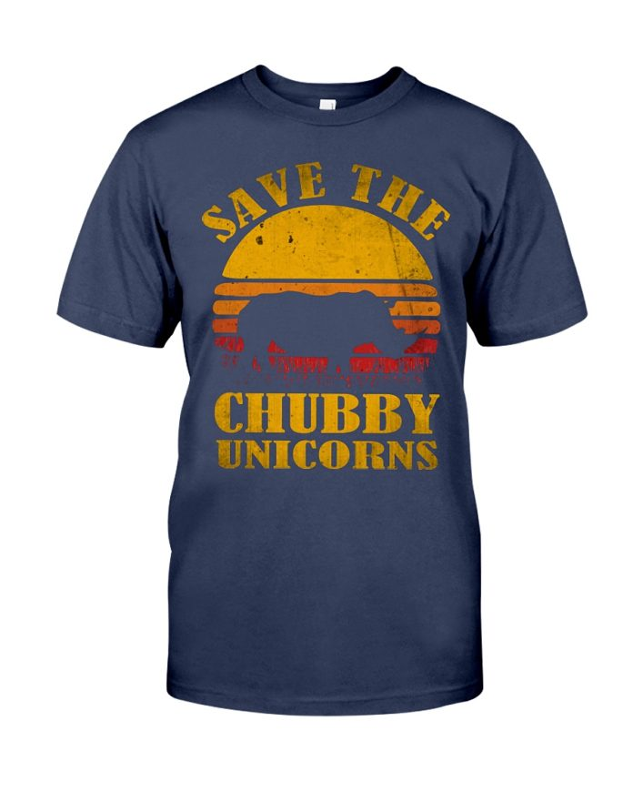 Save the chubby unicorn shirt